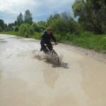 Велопоход после дождя.