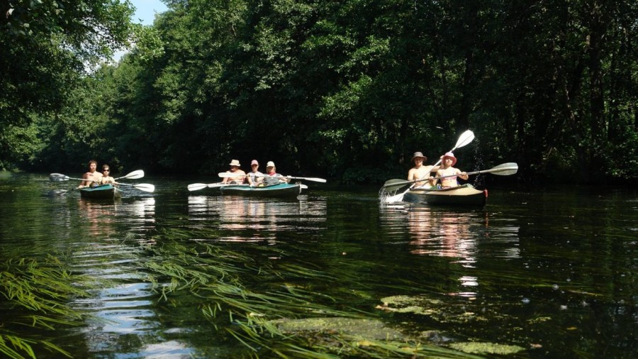 Сплав по реке Ушна