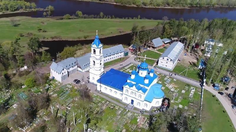 Монастырь в Спас-Купалище